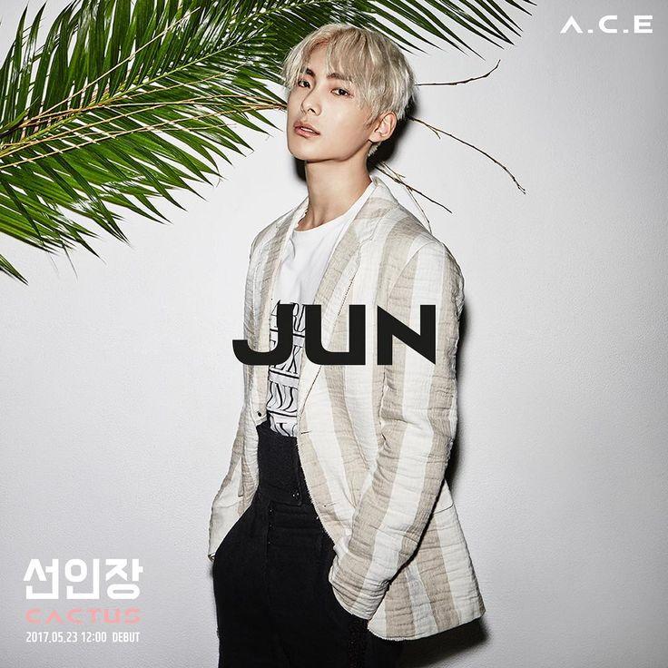 A.C.E(에이스) - 준(JUN) . 선인장(CACTUS). 2017.05.23 12:00 DEBUT . #ACE #JUN #DONGHUN #WOW #JASON #CHAN #DEBUT #데뷔 #에이스 #선인장 #CACTUS