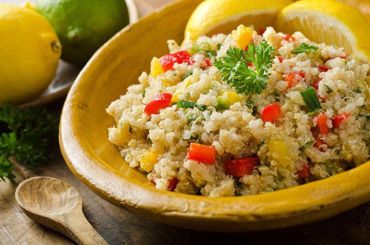 Mediterranean Quinoa Tabouli Health Salad