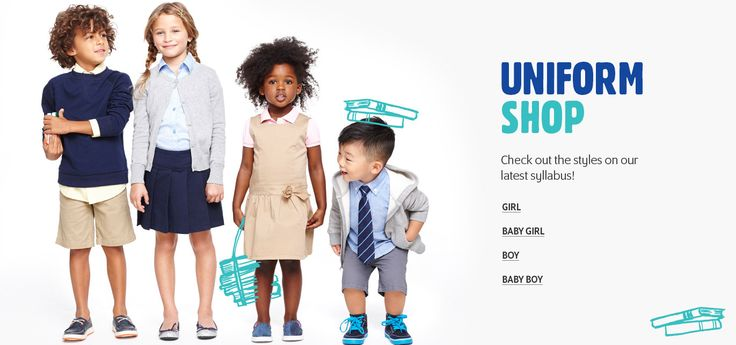 Time to dress your kids in the right school attire with our affordable and adorable styles. Whether you're on the prowl for an elementary school uniform, middle school uniform or high school uniform, we've got outfits for every age that won't cramp their style.