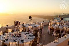 Stunning work for the reception of Tori and George held at La Maltese Estate