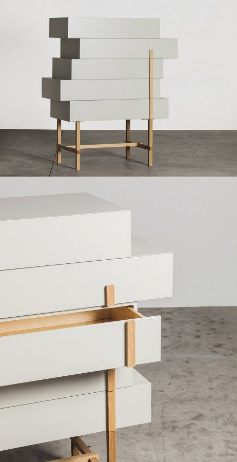 Lacquered storage unit with drawers GALENA by Miniforms | #design Hagit Pincovici