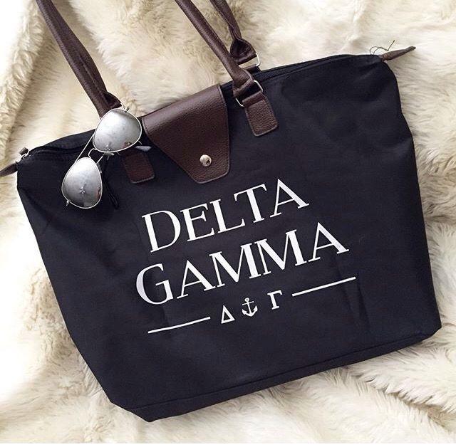 Delta Gamma bag by #224apparel