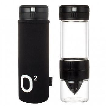 UdiLife 榨汁沖泡2用活力瓶/450ml勁黑