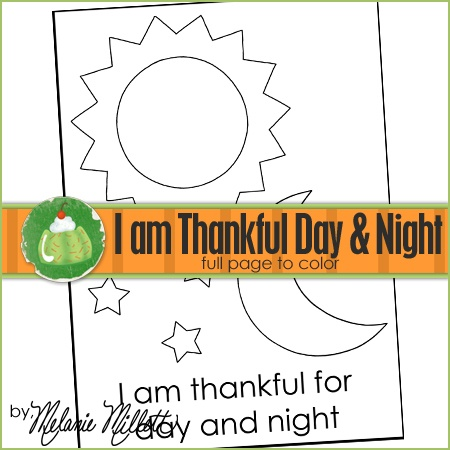 I am thankful for day and night coloring page cleaning for Day night coloring pages