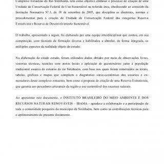 1 – APRESENTAÇÃO O presente documento, que constitui parte do Estudo Socioambiental sobre a região das 17 ilhas do Complexo Estuarino do Rio Sirinhaém, tem. http://slidehot.com/resources/sirinhaempdf2.42305/