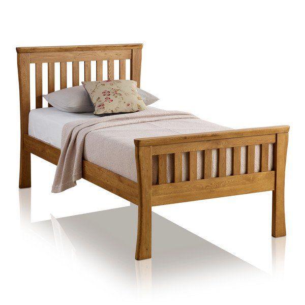 Orrick Single Bed Solid Oak Oak Furniture Land Single Bed Oak Furniture Oak Beds
