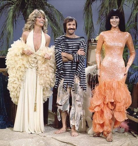Farrah Fawcett on Sonny & Cher