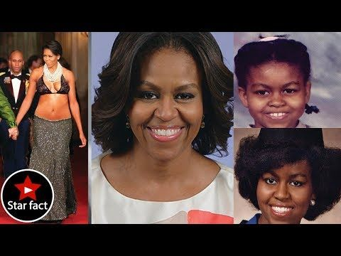 The Stunning Transformation Of Michelle Obama , biography, style - YouTube
