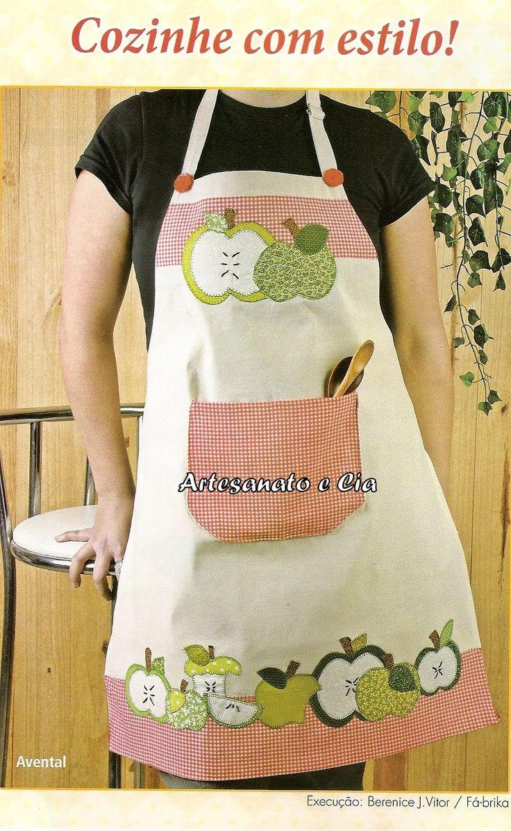 Artesanato e Cia: avental