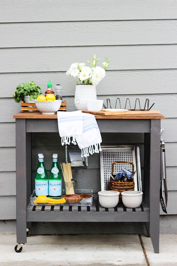 5 Awesome DIY Grilling Carts