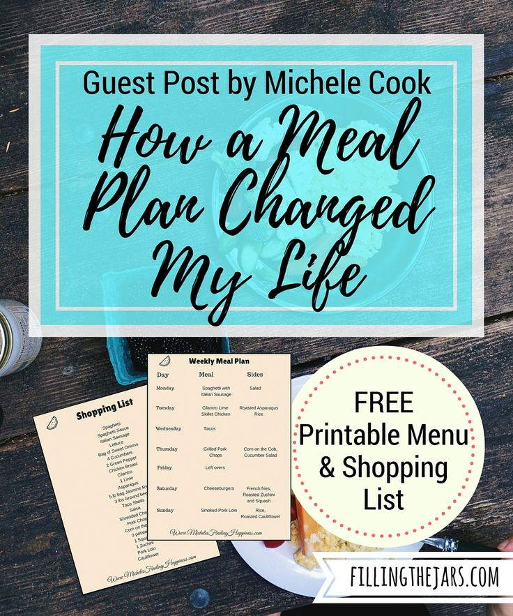 How a Meal Plan Changed My Life