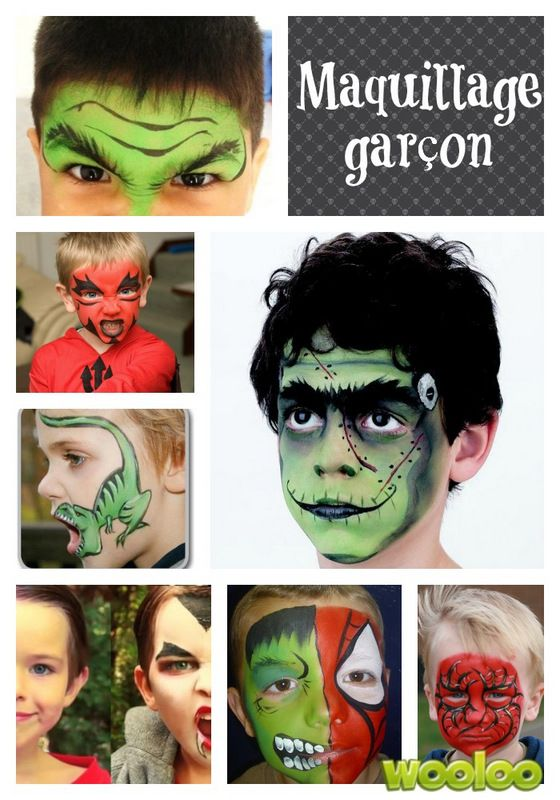 Maquillez-vous vos enfants à l'Halloween? Et vous, participez-vous à la fête en vous parant de vos plus épouvantables atours? Question de se mettre encore plus dans l'ambiance et pour vous inspirez un peu, voici quelques belles idées de maquillages pour tous. Il ne reste plus qu'à avoir le talent maintenant…  Hulk Diable Dinosaures Frankenstein […]