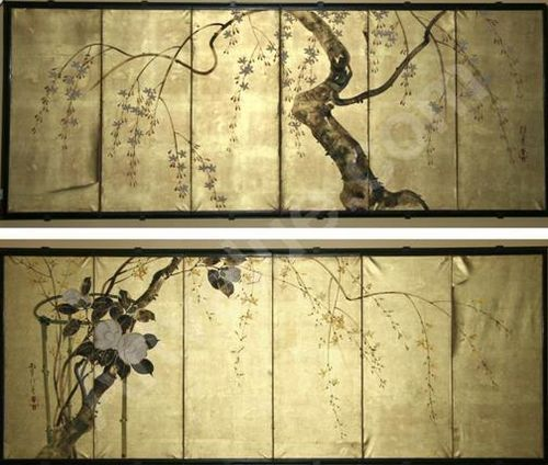 17 best ideas about folding screens on pinterest folding screen room divider room divider - Biombos chinos antiguos ...