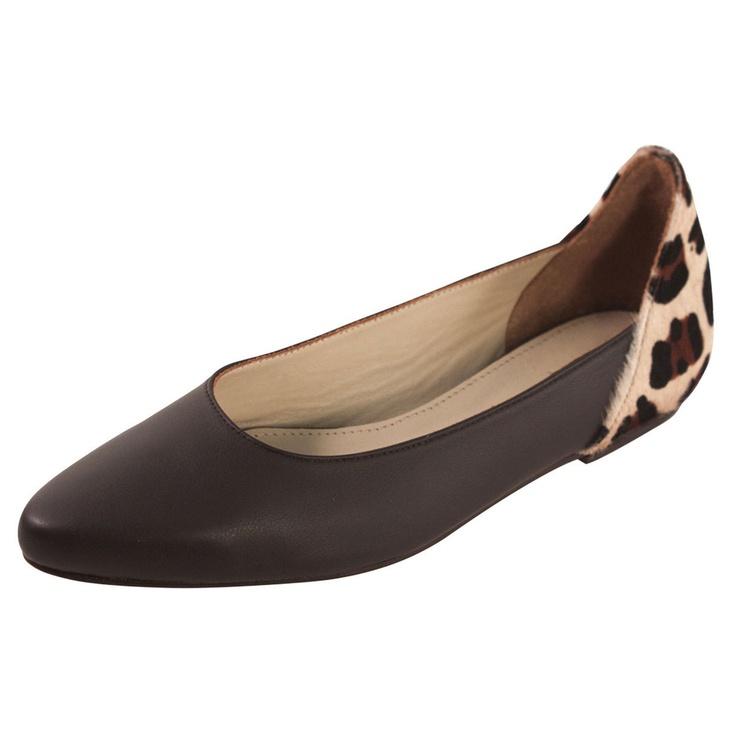 Atlanta Flat Chocolate Leopard