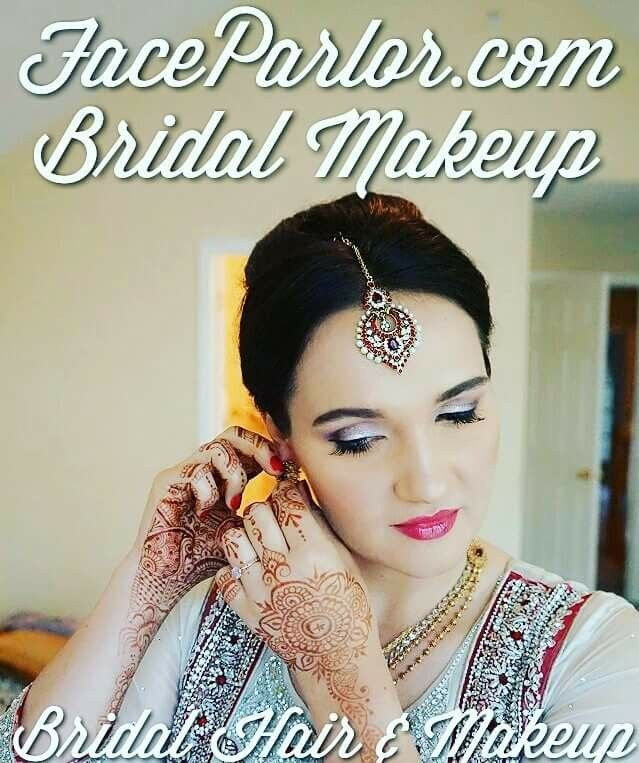 Pin by AUTHENTIC MAGAZINE on Indian Bridal Makeup Artist New York New Jersey Pennsylvania | Pinterest | Indian bridal makeup, Bridal make up and Indian ...