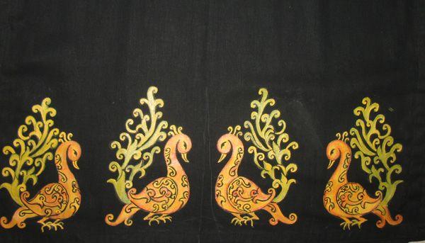 Virachita   Kerala Mural on fabric