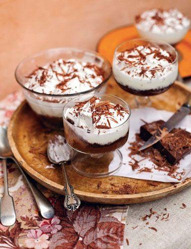 Трайфл – шоколадный и тройной  Трайфл… еще не знаете, что такое трайфл? Немедленно читать рецепт – и Джейми Оливер поведает: и что такое трайфл, и как приготовить, и отчего тройной!