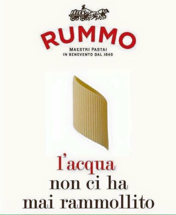 Pasta Rummo, quando la spontaneità salva il brand - Wired