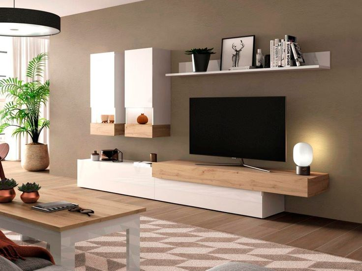 Living Room Tv Cabinet, New Living Room, Small Living Rooms, Living Room Bedroom, Living Room Decor, Living Room Tv Unit Designs, Stylish Bedroom, Living Furniture, Luxurious Bedrooms