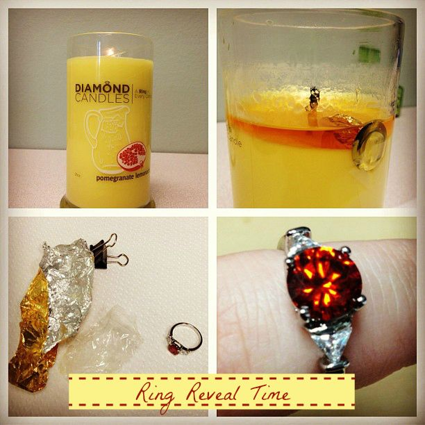 Pomegranate Lemonade soy candles = so good and delicious! Plus, the hidden ring jewelry is cute, too!