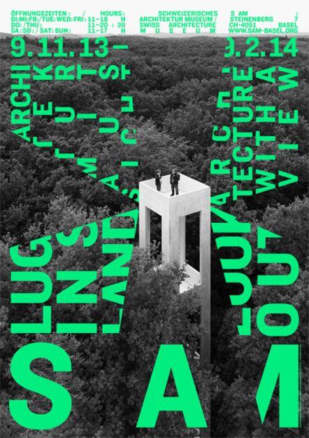 Hubertus Adam, S AM Schweizerisches Architekturmuseum (Hg.) Luginsland. Architektur mit Aussicht / Lookout. Architecture with a View