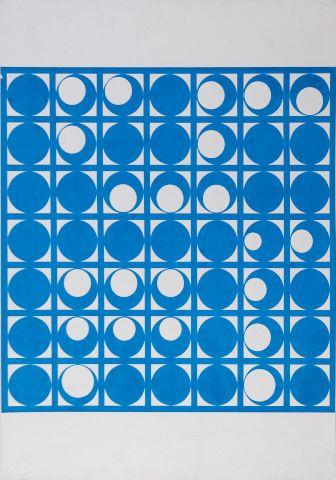 DEMARTINI HUGO (1931–2010) Kruhová struktura, 1971