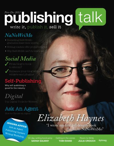 Publishing Talk Magazine 03, Nov-Dec 2012 - NaNoWriMo