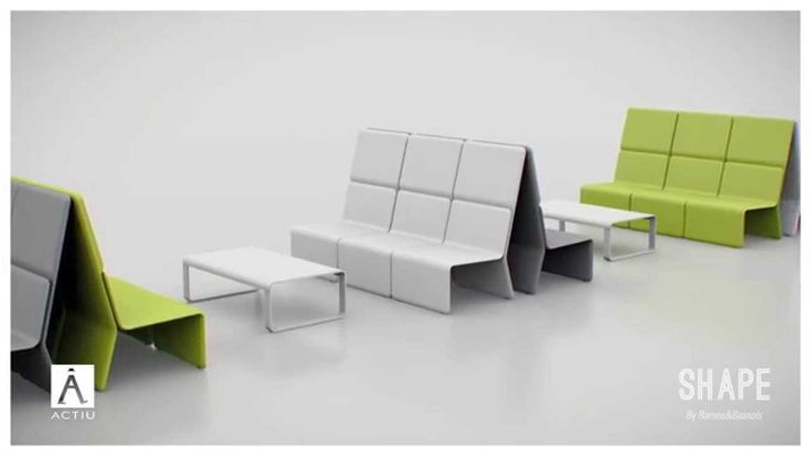 SHEY - Freedom, Flexibility and Movement #furniture #softseating #Actiu