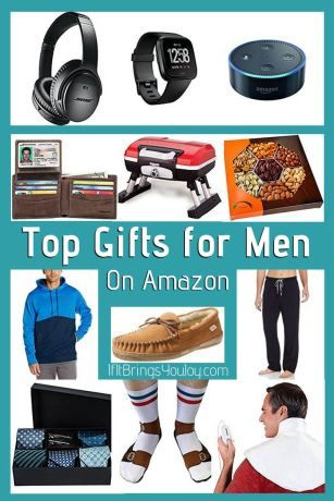 Top Gifts For Men On Amazon Fun Things To Learn Do Pinterest Gifts Gift Guide And Giving