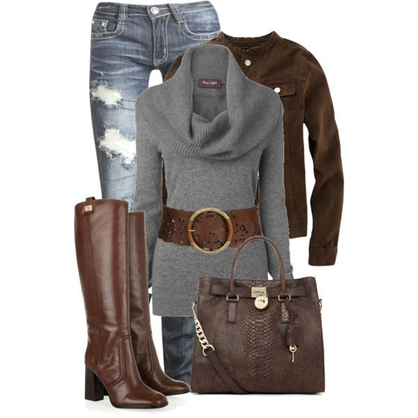 """""""Perfect Fall Day""""Sweaters, Style, Clothing, Jeans, Winter Outfit, Fall Fashion, Fall Outfit, Boots, Belts"""