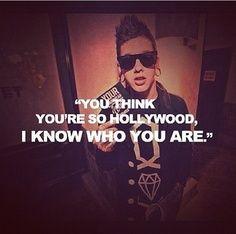 """Hollywood,"" T. Mills lyrics"