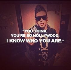"""Hollywood,"" T. Mills lyrics"