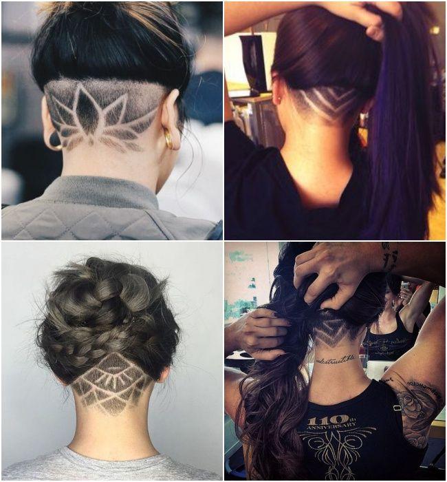 Já que hoje falei sobre cabelo, vocês viram a nova mania da gringas? Chama-se Undercut Tattoo, que nada mais é que cortaro cabelo bem baixinho na nuca (máquina 2 ou 3) e fazer um desenho. Eu já fiz isso quando adolescente, teve uma época que todo mundo fazia undercut na nuca (pode ser nas laterais …