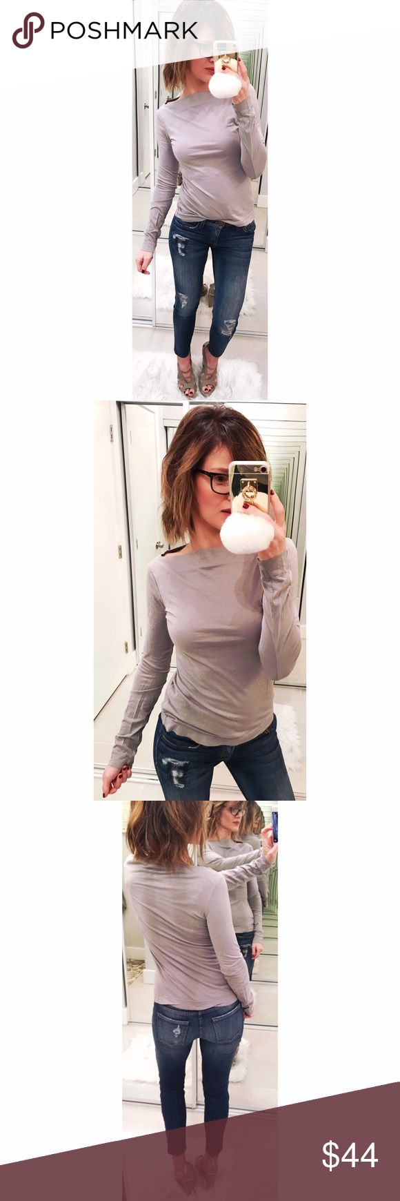 ➡James Perse Gray Boatneck Long Sleeve Tee⬅ A super soft essential top in a versatile gray color. Size 1 = size small. 💕Offers welcome. Take 30% off your entire purchase automatically at checkout when you use the bundle feature, or make an offer for your bundle. Happy Poshing!💕 James Perse Tops Tees - Long Sleeve