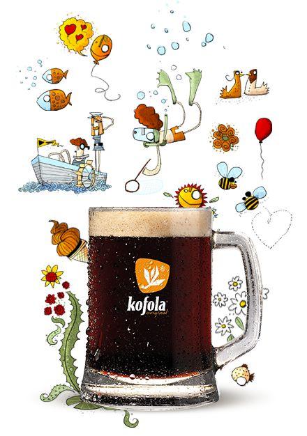 Kultowy czeski napój, namiastka Coca-Coli z trudnych czasów radosnego socjalizmu.