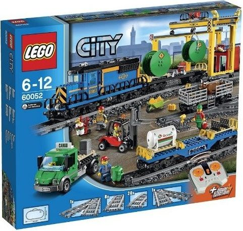 The Lego City Cargo Train - a great selection of Lego construction sets at Wonderland Models.  http://www.wonderlandmodels.com/products/lego-city-cargo-train/