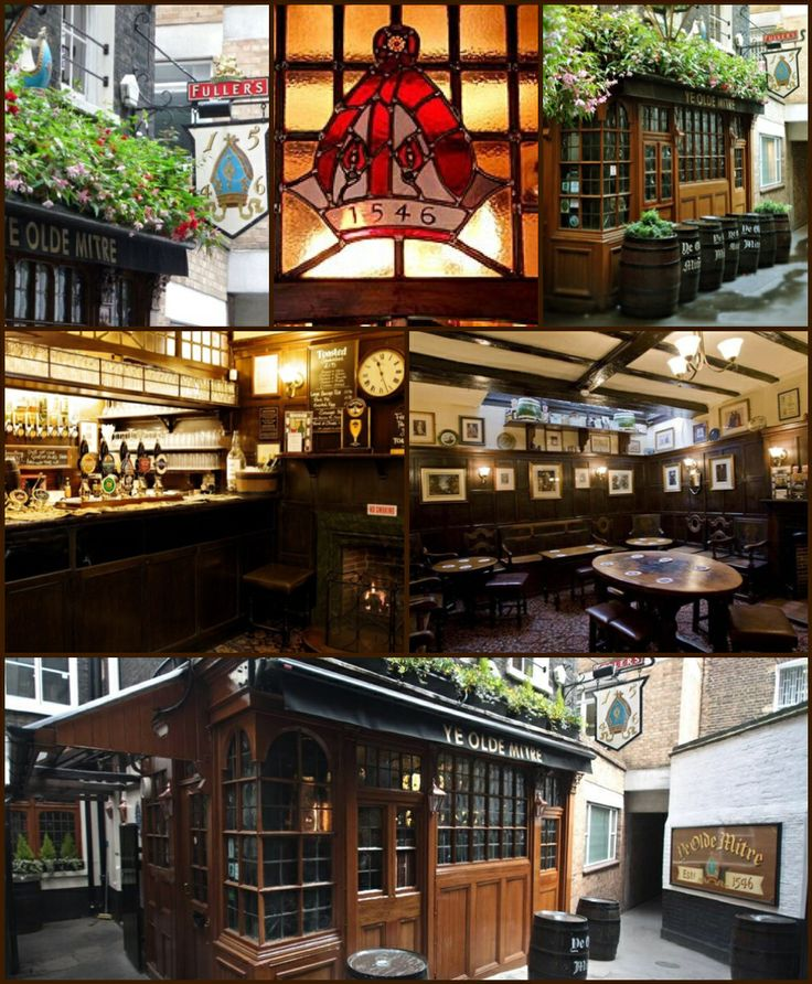 Ye Olde Mitre, Holborn London