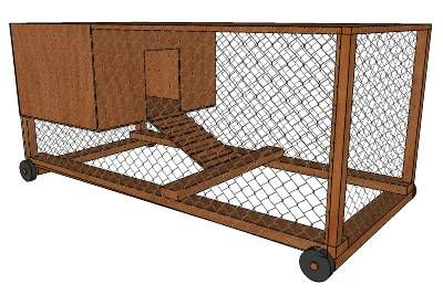 Chicken Tractor by Mark - 3D Warehouse