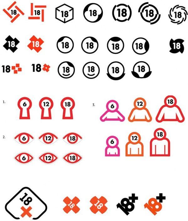 В Студии Лебедева сделали дизайн знаков возрастных ограничений