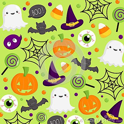 Vector Illustration about Halloween background
