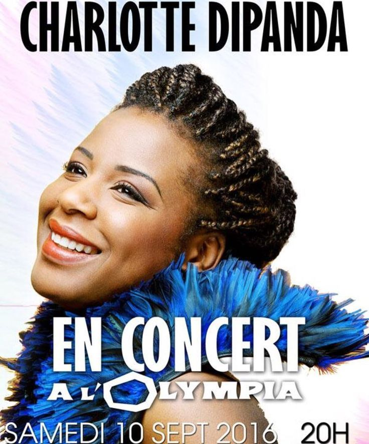 Charlotte Dipanda JTV Digital-distributed artist will be headlining at @olympia_bruno_coquatrix on Sept 10 2016. Major venue major artist originated from #cameroon major event! Be there. #olympia #charlottedipanda #africarising #live #paris #show #concert