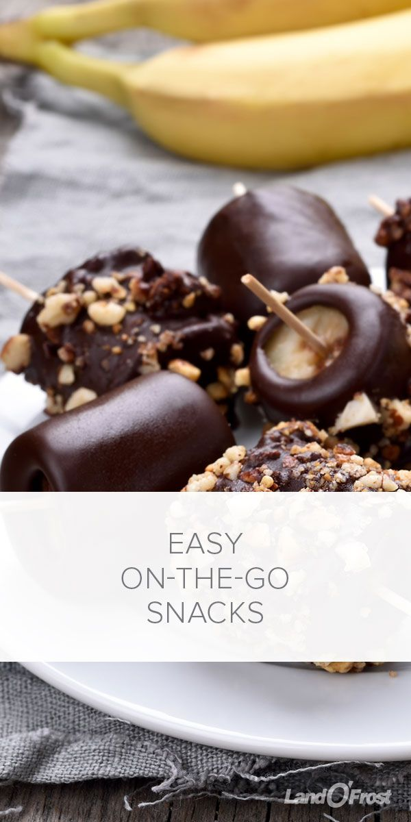 Moms gotta have the goods to survive a long road trip with the kids and snacks are the secret weapon. But we can't always just give our kids a bag of chips when they're hungry. Try these healthier on-the-go snacks instead. Yogurt drops, frozen chocolate bananas, frozen grape skewers, frozen corn and even frozen pistachios- these easy homemade snacks are what you need when hunger strikes away from home!