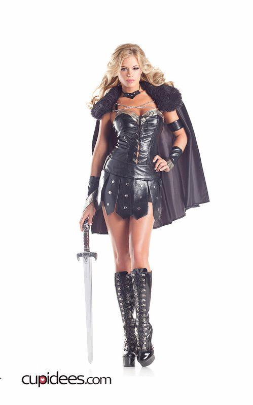 Sexy Warrior Princess Costume - Cupidees.com