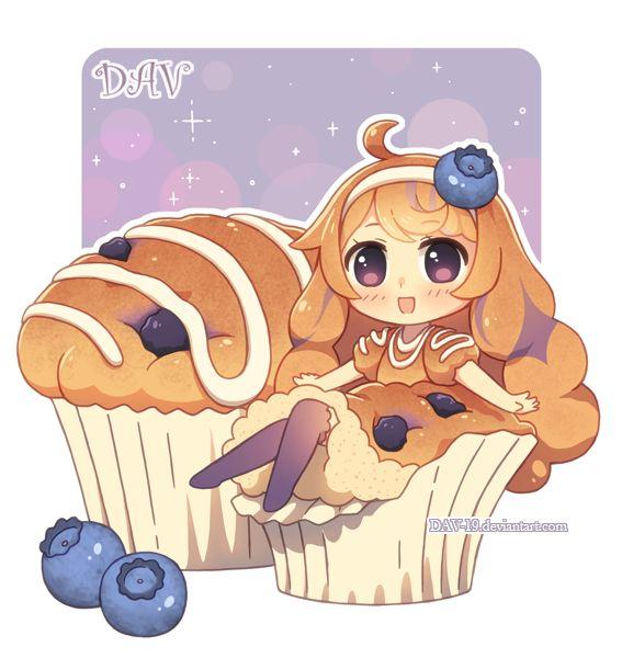 Blueberry Muffin by *DAV-19 on deviantART