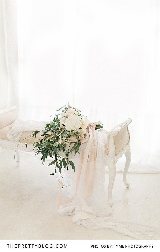 Green and Muted Toned Bouquet | Photography by Tyme Photography | Styled Shoot…