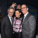 George Clooney Photobombs Jerry Seinfeld, Steven Spielberg During USC Gala (Photos)
