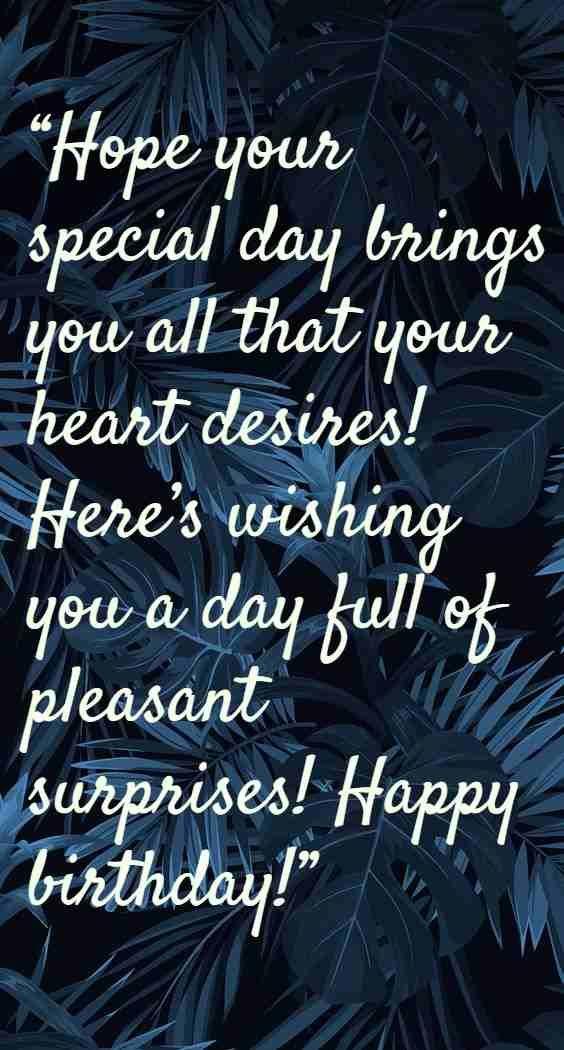 nice birthday wishes simple