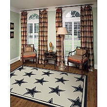 Superb Cowboys Rug: Cool For A Guys Room