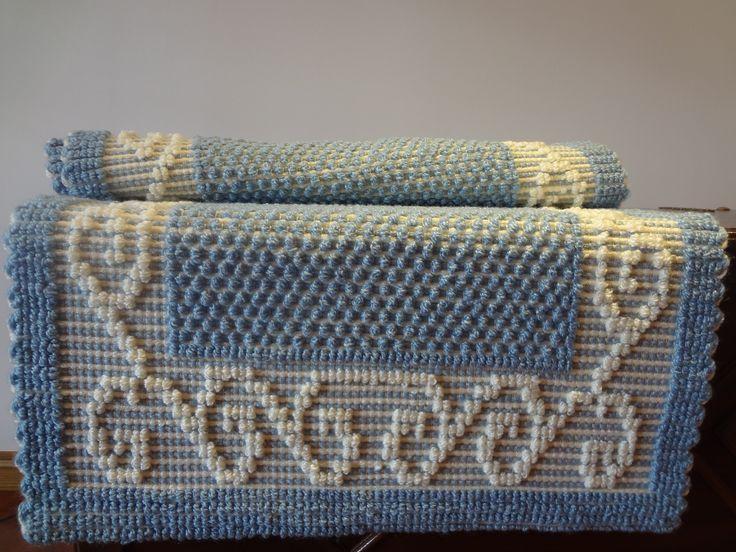 Conjunto de tapetes para quarto