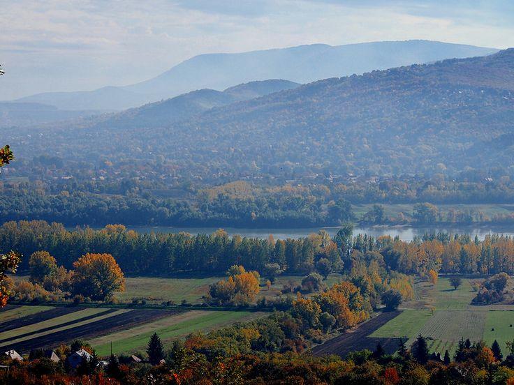 Danube bend - view from Kismaros, Hungary